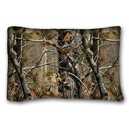 Winhome Realtree Camo Pillow Cases Covers Standard Size