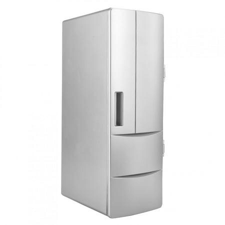 Fyydes Portable USB Mini Fridge Freezer Refrigerator Cooler and Warmer For Home Office Car Boat, Mini Refrigerator, USB Frideg - image 1 of 8