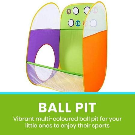 Kids Tent Pop Up Play Tents Indoor Outdoor Tent for Children by Alvantor(Include 4 Balls)