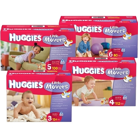 Kimberly-clark Baby Diaper Huggies - Item Number 10518CS ...