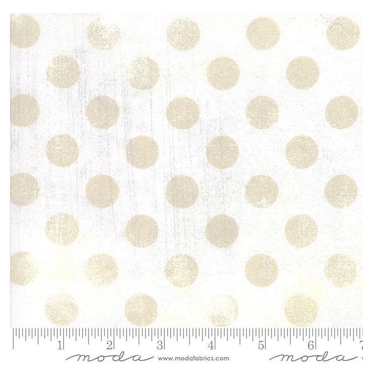 Moda Fabrics Grunge Texture Basics Hits the Spot ~Vanilla Cotton Fabric