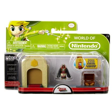 Micro Figure 3-Pack, Ganondorf Castle