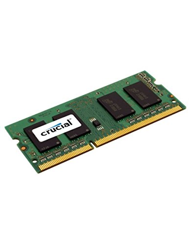 2GB Single DDR3L 1600 MT/s (PC3-12800) SODIMM 204-Pin Memory - CT25664BF160B, CT51264BD160BJ CT25664BF160B A108700P Memory CT2KIT25664BF160B 1066 Unbuffered.., By Crucial
