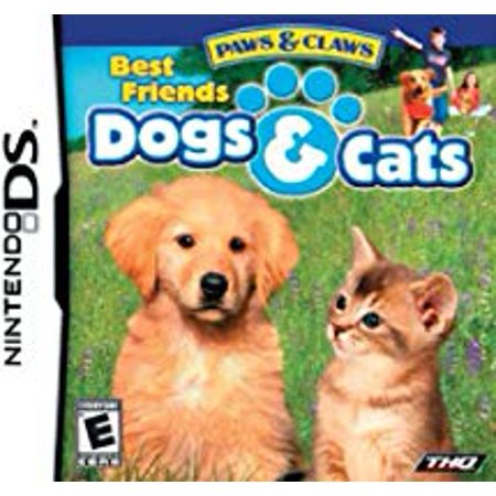 Paws and Claws: Best Friends - Dogs & Cats - Nintendo Ds (Refurbished) CO Cartridge