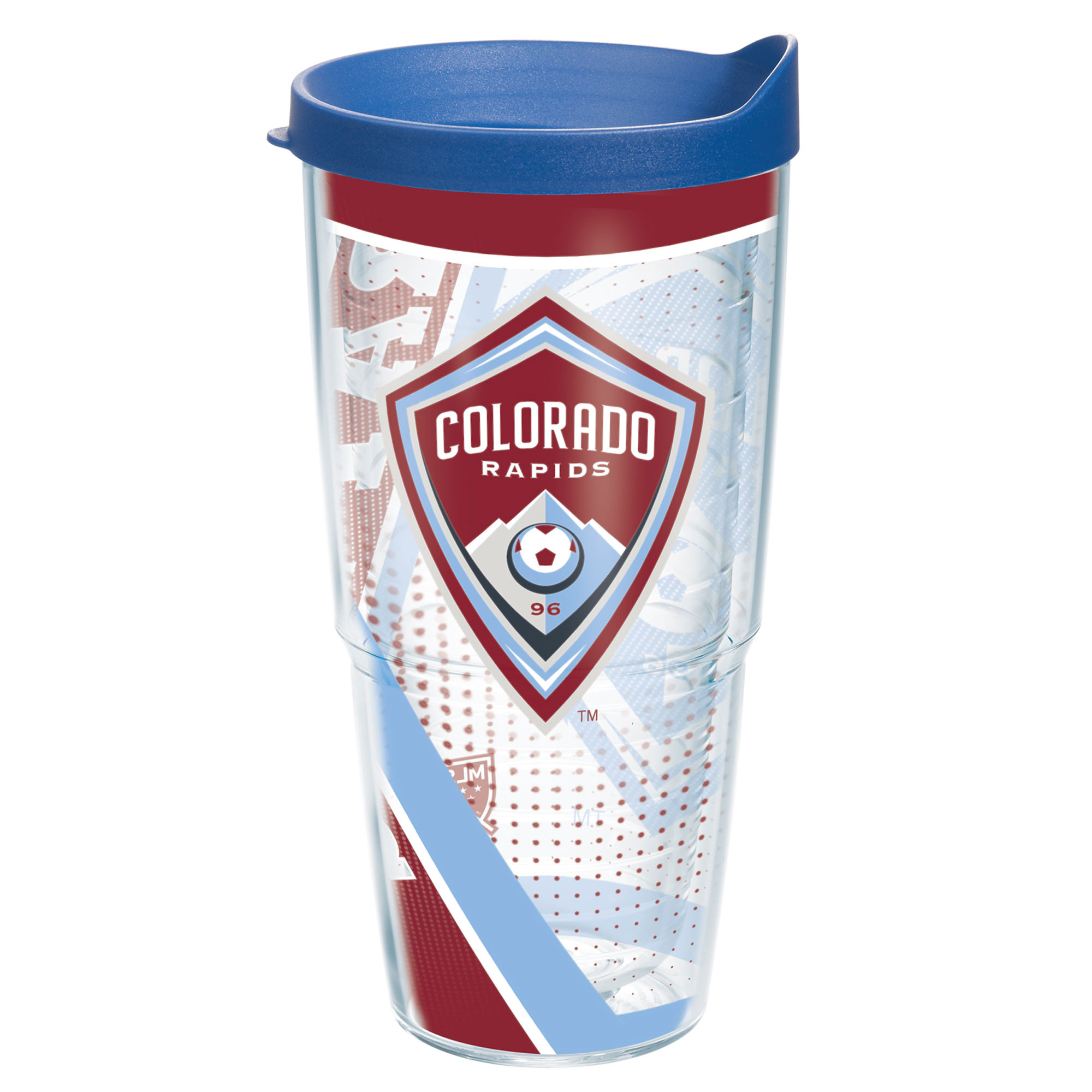 Colorado Rapids Tervis 24oz. Tumbler with Lid - Clear - No Size