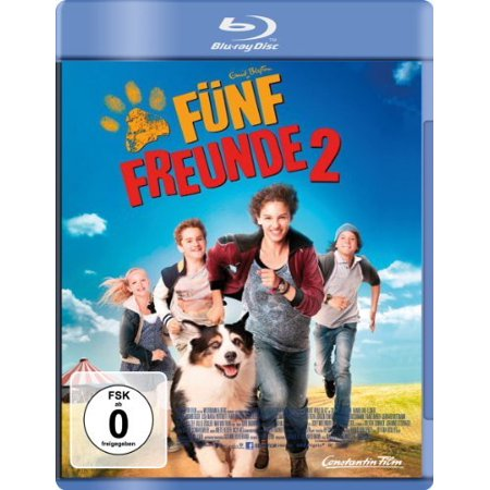 Famous Five 2 (2013) ( Fünf Freunde 2 ) ( Famous 5 Two ) [ Blu-Ray, Reg.A/B/C Import - Germany (Famous Ray)
