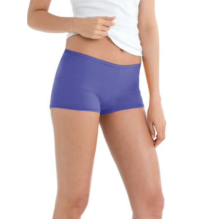 Women's Assorted Boyshort Panties - 6 - Mix Boyshort
