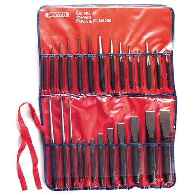 5 Pc Punch & Chisel Set