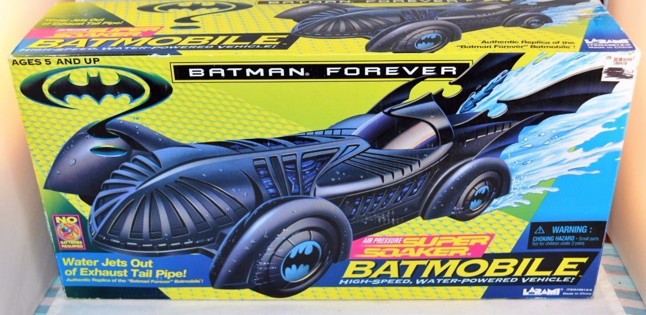 Batman Forever Batmobile Super Soaker High-Speed Water-Powered Vehicle 1995 by