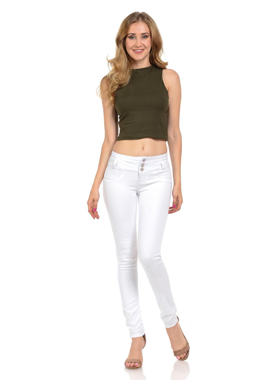 M.Michel Women's Jeans Colombian Design, Butt Lift, Levanta Pompa, Push Up, Skinny · Style N3396