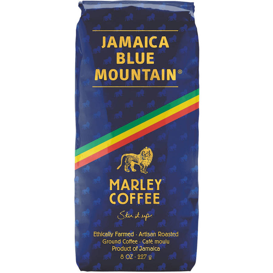 Marley Coffee Jamaica Blue Mountain Ground Coffee, 8 oz