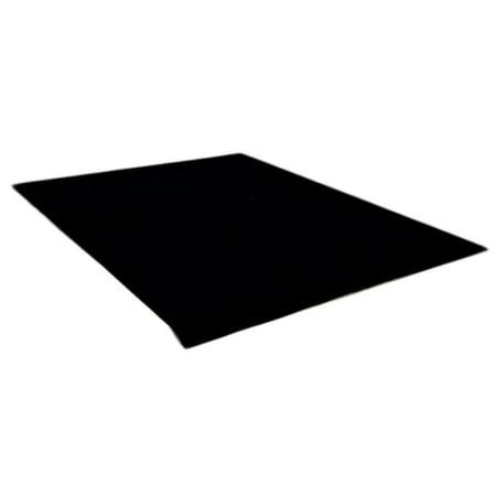 Dean Flooring Company Ebony 6' x 10' Indoor/Outdoor Patio Deck Boat Entrance Event Carpet/Rug Mat UV Stabilized ()
