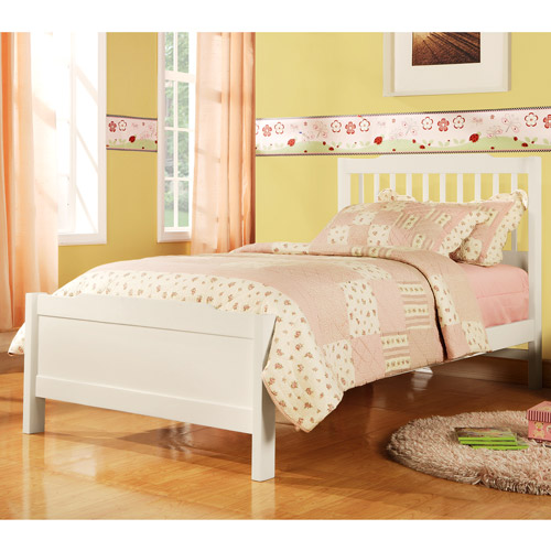 Elise Captain Twin Bed, Soft White (box 1 of 2)