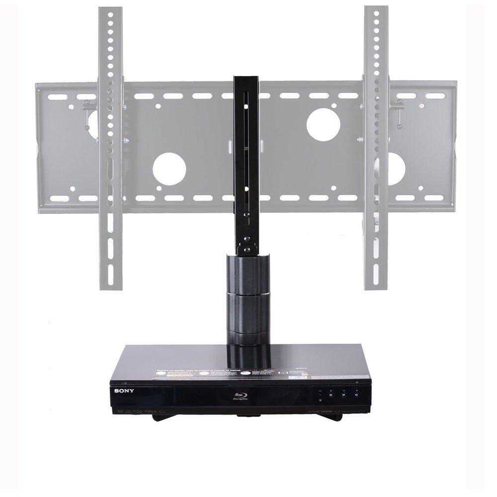 VideoSecu DVD Player Wall Mount DVR VCR DDS Receiver Cable Box A/V Component Shelf Holder - TV Bracket Attachable BVA