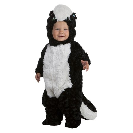 Precious Skunk Infant Costume (Baby Skunk Halloween Costume Pattern)