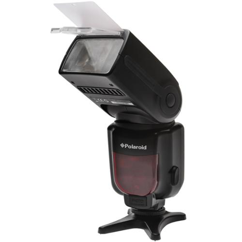 Polaroid PL-190N GN54 Wireless TTL Auto Power Zoom Bounce...