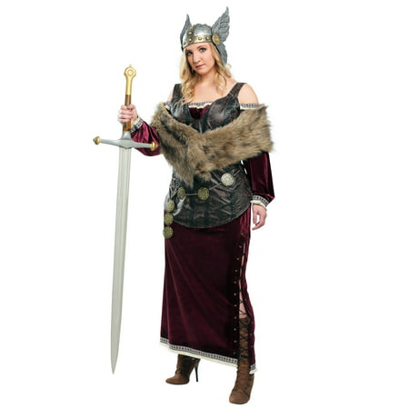 Women's Plus Sized Viking Goddess - Viking Woman