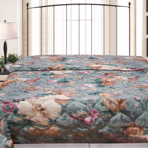 Textiles Plus Inc. Crystal Hotel Jacquard Bedspread