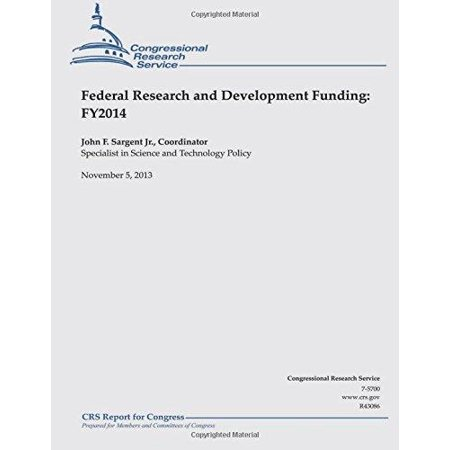 Federal Research And Development Funding  Fy2014