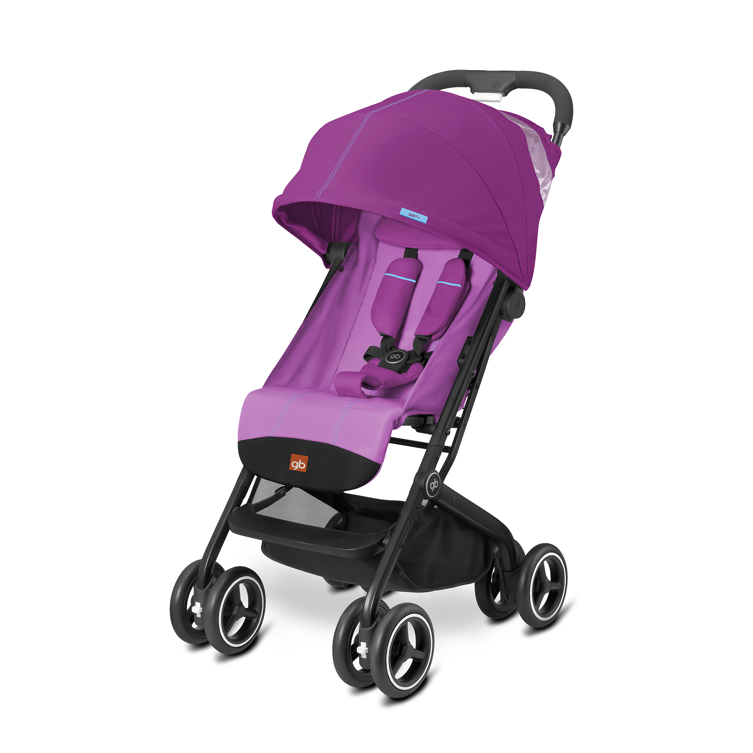 gb Qbit +Lightweight Stroller, Posh Pink by GB
