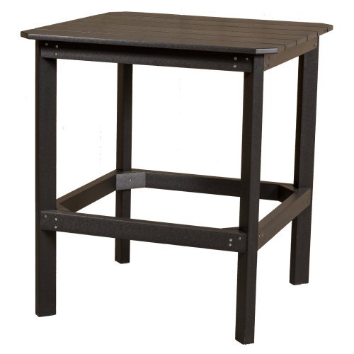 Little Cottage Classic Recycled Plastic 40 in. Square Patio Dining Table