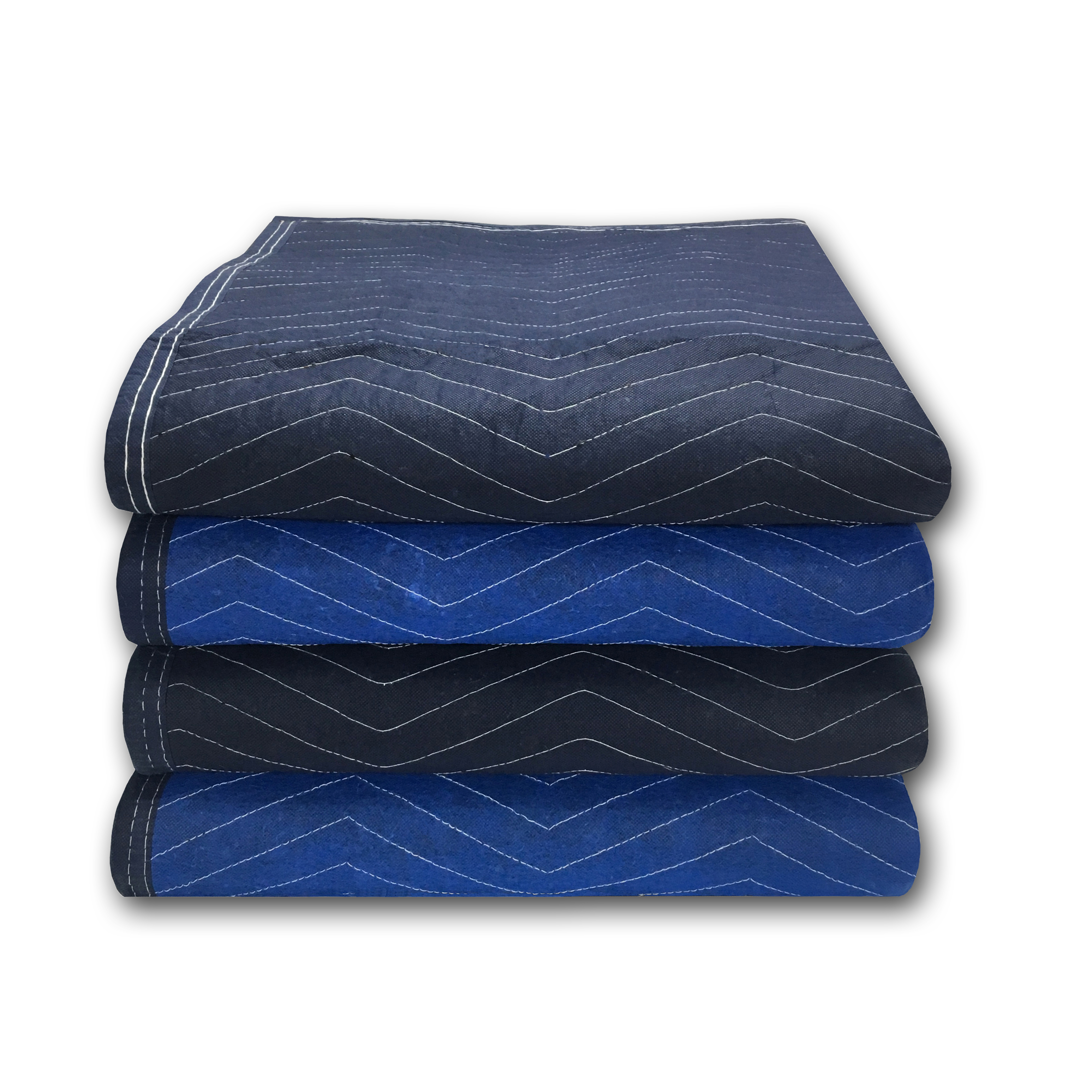 Uboxes Pro Mover Moving Blankets, 72 x 80 in, 6.83lbs each, 4 Pack