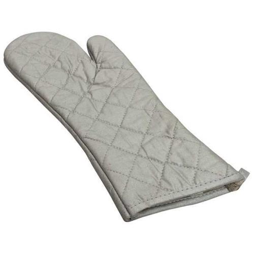 R & R TEXTILE 01710 Oven Mitt, Hand Shaped, Silver