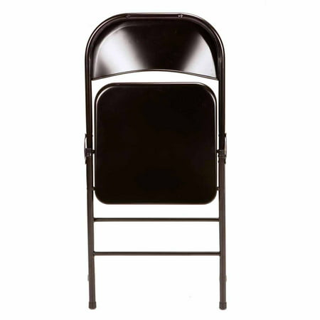 Mainstays Steel Folding Chair 4 Pack Black Best