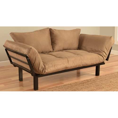 Kodiak Furniture Spacely Convertible Futon Lounger and Mattress
