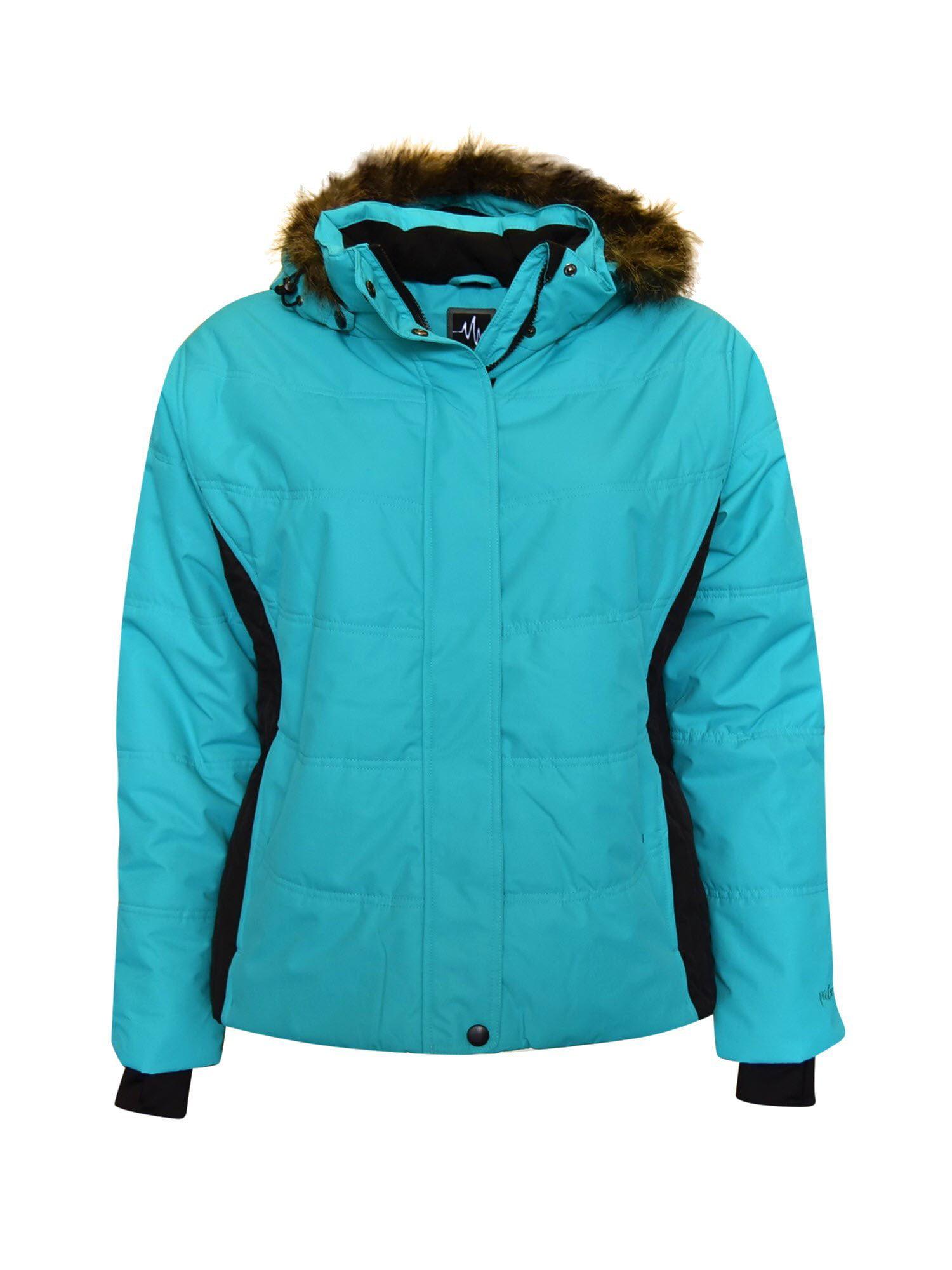 Pulse Women's Plus Extended Size Snow Ski Coat Jacket Aspens Calling 1X - 6X