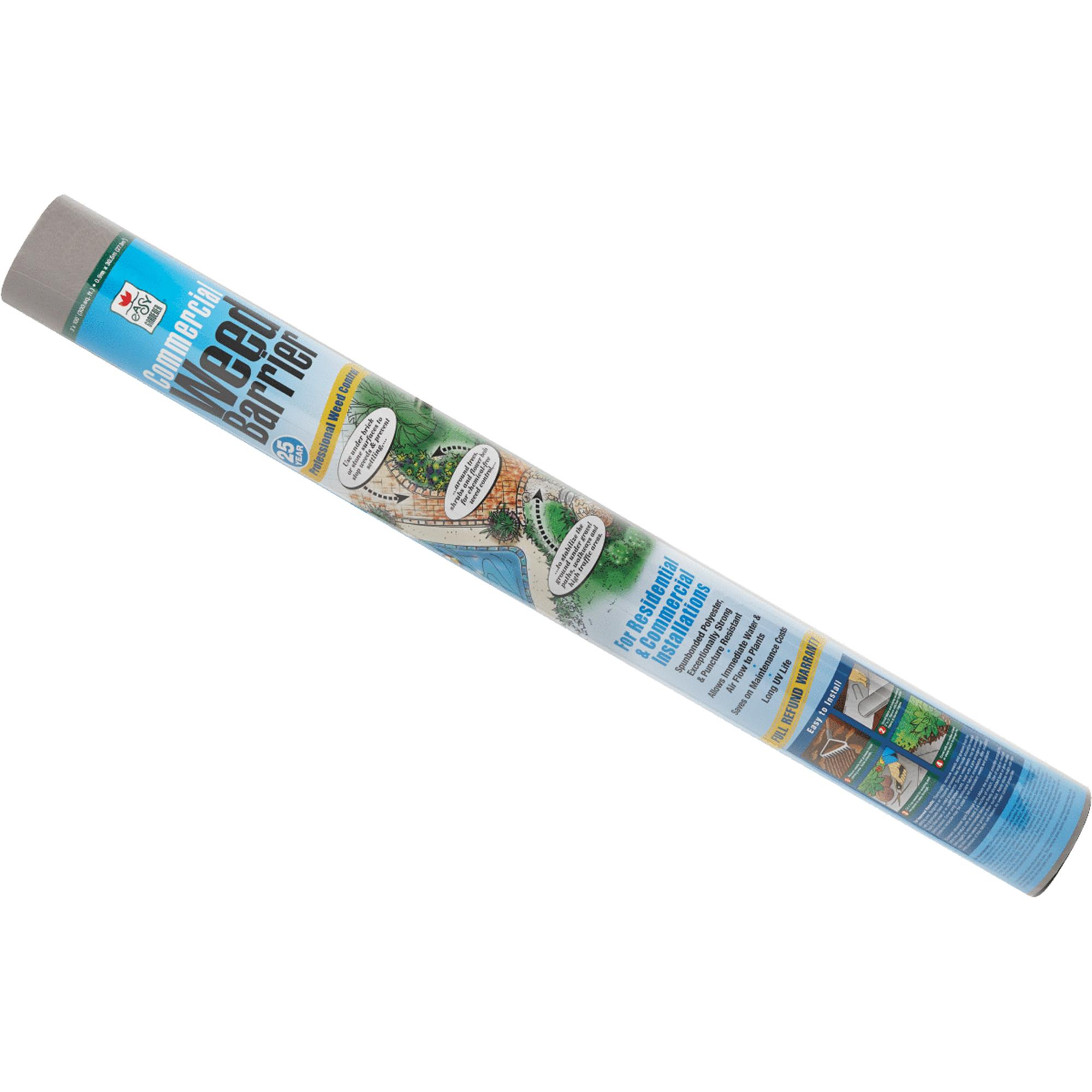 Easy Gardener Commercial Weed Barrier 25-Year Landscape Fabric