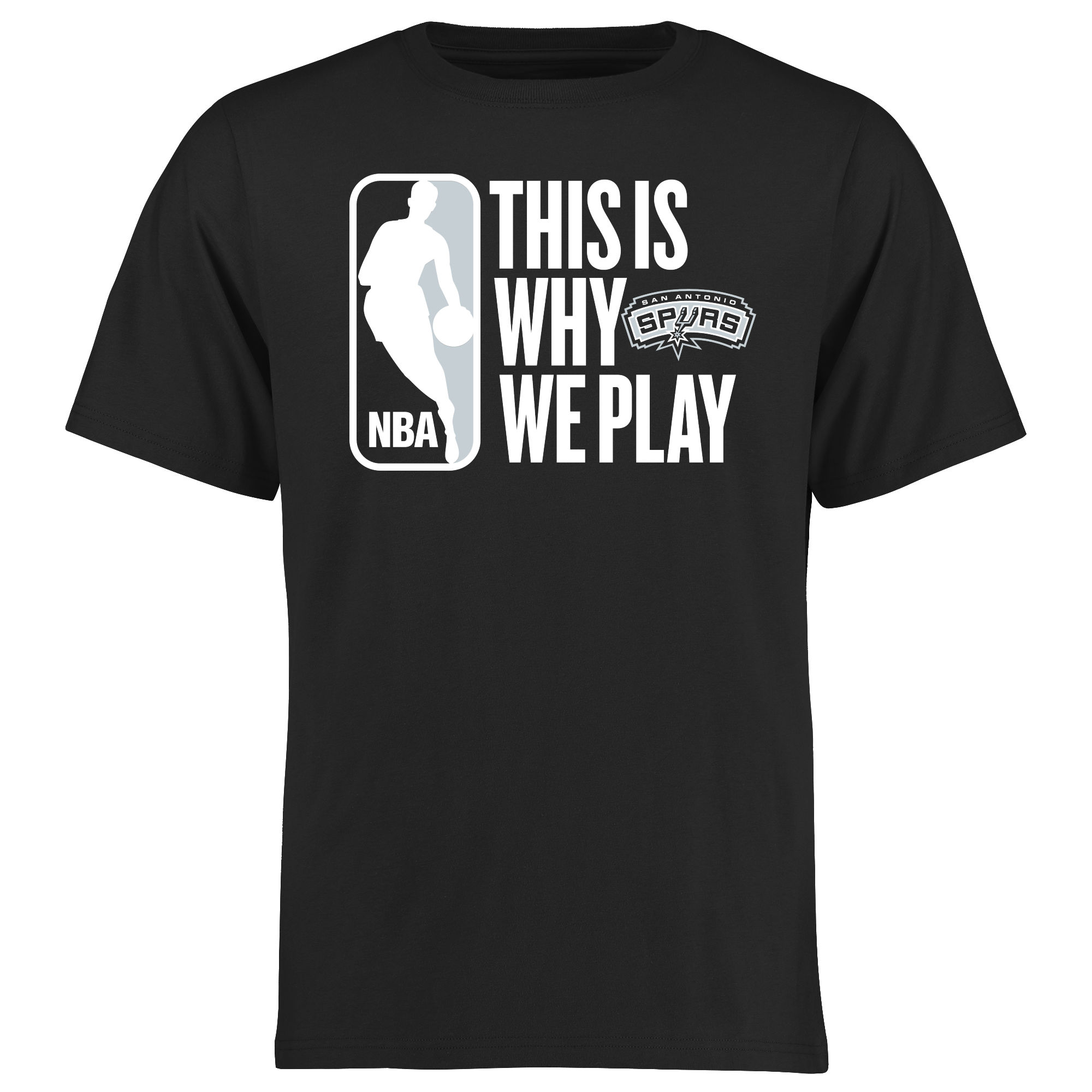 San Antonio Spurs This Is Why We Play T-Shirt - Black