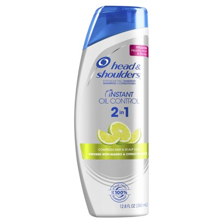 Head and Shoulders Instant Oil Control Anti-Dandruff 2in1 Shampoo & Conditioner, 12.8 fl