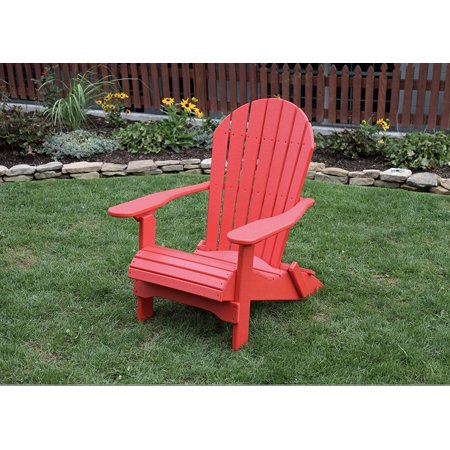 Marvelous Bright Red Poly Lumber Rolled Seating Heavy Duty Everlasting Lifetime Polytuf Hdpe Amish Crafted Folding Adirondack Chair Squirreltailoven Fun Painted Chair Ideas Images Squirreltailovenorg
