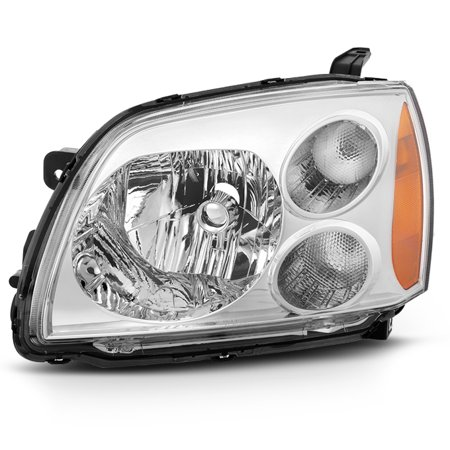 Fit 2004-2012 Mitsubishi Galant Driver Left Side Chrome Headlight Replacement 2001 Mitsubishi Galant Headlight