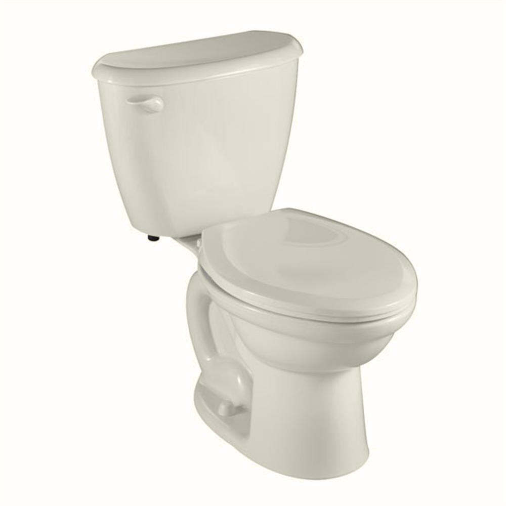 American Standard 2487.010.222 Colony FitRight Right Height Elongated Toilet ...