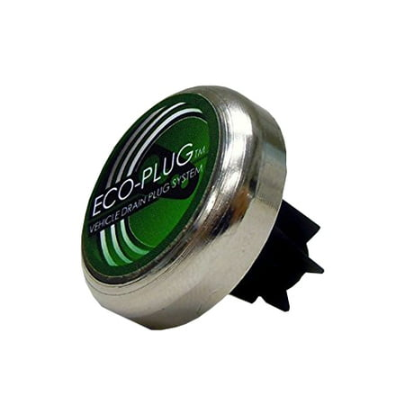 - Eco-Plug - Oil Drain Plug for 16mm-18mm Thread Diameter for Damaged/Undamaged Steel Pans