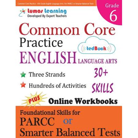 Common Core Practice - 6th Grade English Language Arts : Workbooks to Prepare for the Parcc or Smarter Balanced Test](Halloween Art 6th Grade)