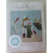 McKenna Ryan~SNOW BUDS~PreCut Laser Applique Kit w/ Fabric~Frosted Flakes~BUD05
