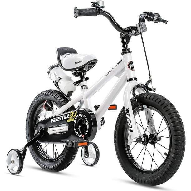 RoyalBaby Kids Bike Boys Girls Freestyle Bicycle14 inch with Training Wheels