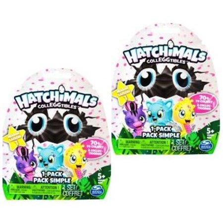 Hatchimals Colleggtibles Season 1 Mystery 1 Pack  2 Lot