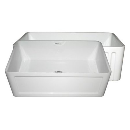33 Inch Farmhouse Sink White : ... Series WHFLCON3018 33 in. Single Basin Farmhouse Sink - Walmart.com