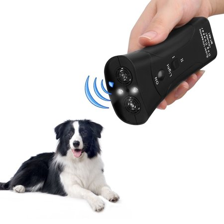 Supersellers Ultrasonic Anti Barking Dog Trainer Device 3 in 1 Stop Barking Dog Training