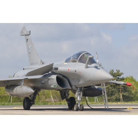 - A French Air Force Rafale jet during Exercise Green Shield Stretched Canvas - Giovanni CollaStocktrek Images (34 x 23)