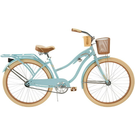 26 Inch Huffy Women S Nel Lusso Cruiser Bike Blue