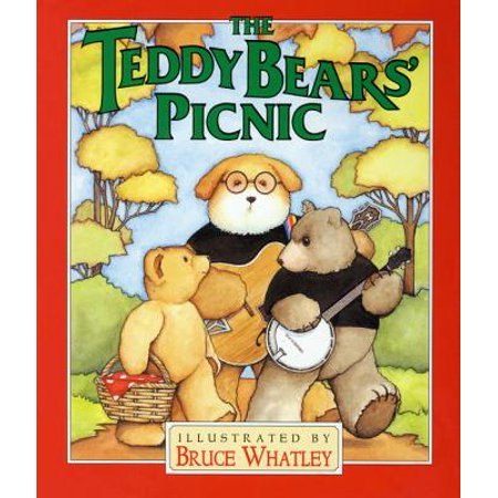 Teddy Bears Picnic (Board Book) - Halloween Teddy Bear Coloring Pages