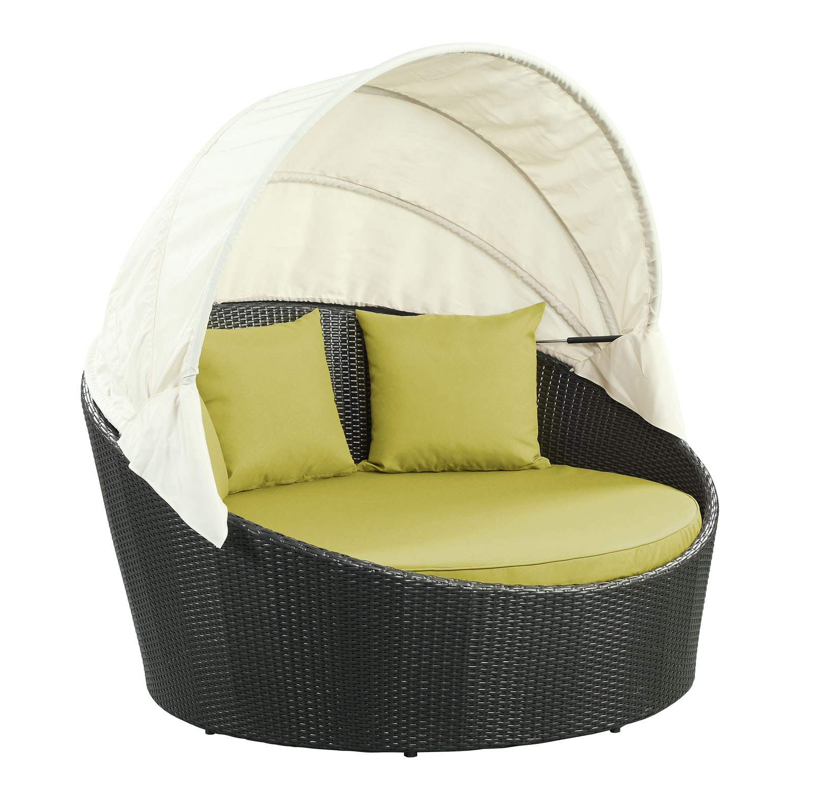 Siesta All-Weather Wicker Canopy Daybed