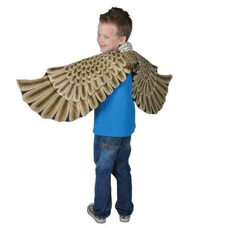 Eagle Plush Costume Wings, Eagle Plush Costume Wings by Adventure Kids By Rhode Island (Children's Eagle Costume)