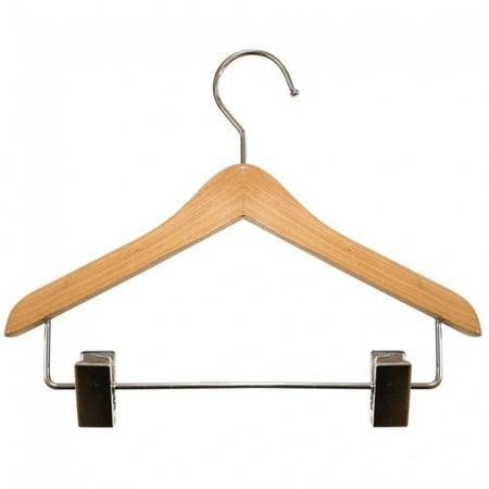 NAHANCO Wooden Coordinate Hangers - Mini w/Clips - 8