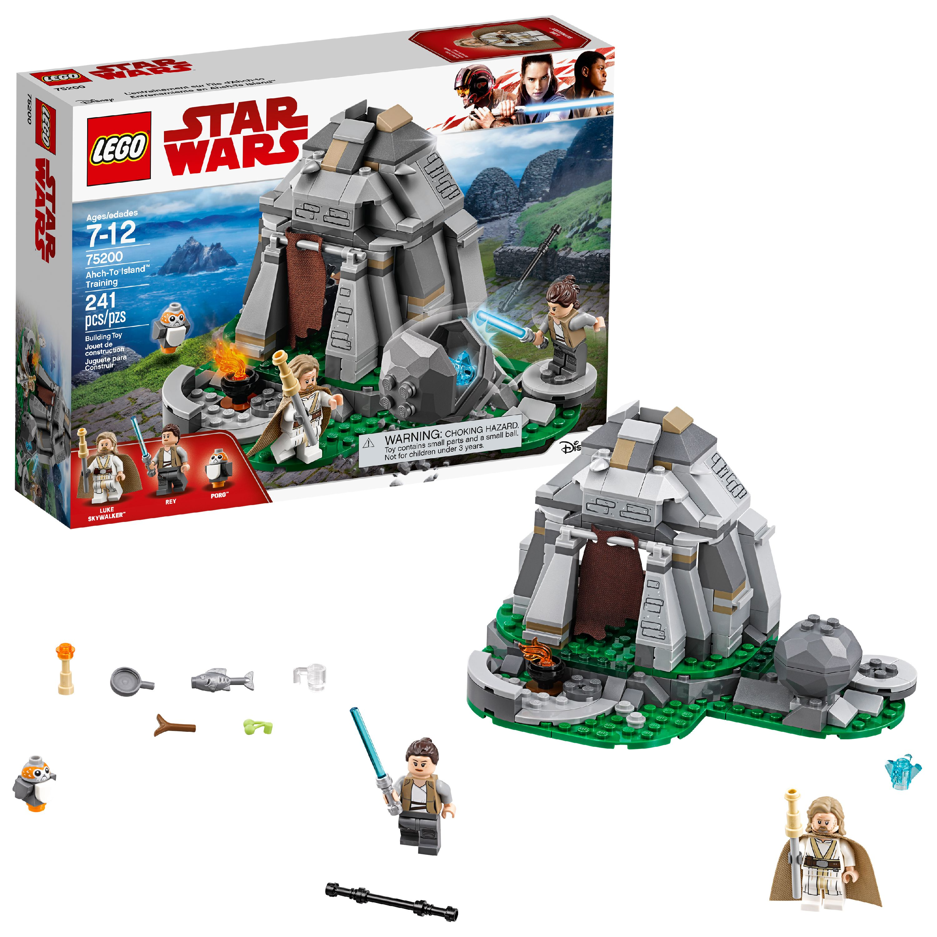 LEGO Star Wars TM Ahch-To Island Training 75200 Building Set